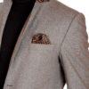Veste homme tweed Taupe