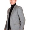 Veste homme tweed Anthracite